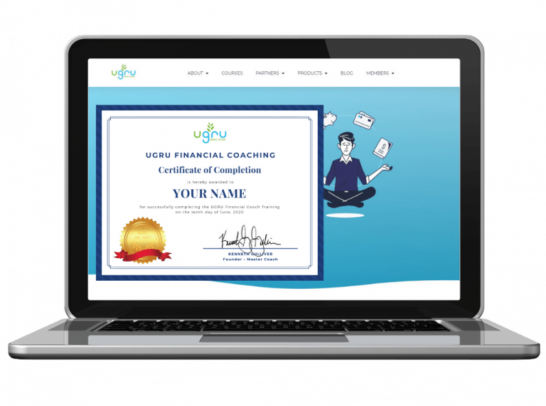 You will receive a Certificate of Completion upon completing your Financial Coaching Course! Found out more (2)