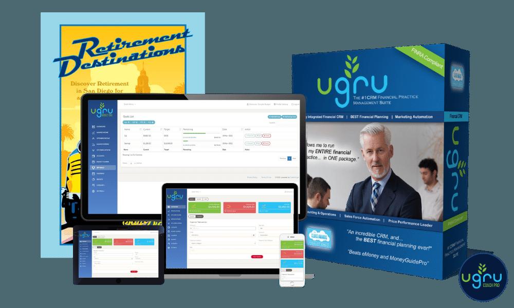 UGRU Coach Pro Full Suite management for Financial Coaches. Get it now!